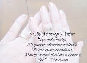 christian wedding quotes why marriage matters books
