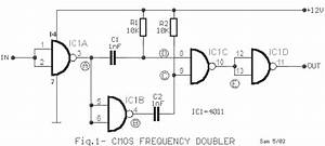 frequency doubler vk3xyx With simple sound alarm generator using cd4011