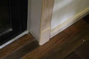 kit chambranle de porte en chene massif encadrement de porte With chambranle de la porte