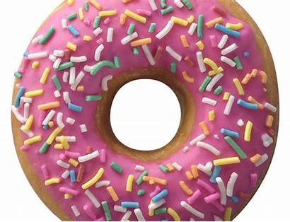 Frosted Donuts Dunkin Donut Strawberry Sprinkled Sg