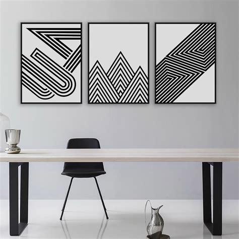 Abstract Minimalist Geometric Shapes by Aliexpress Buy Black White Modern Minimalist