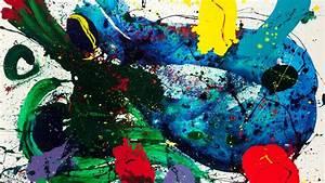 1920x1080 Sam Francis, Modern Art, Abstract Painting, Sam ...