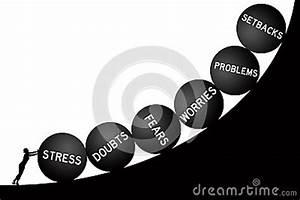 Life Problems Stock Illustration - Image: 47100299