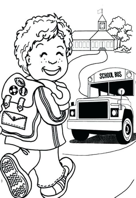 day  school coloring pages  kindergarten  getcoloringscom  printable