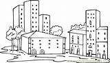 Coloring Pages Neighborhood Buildings Apartment Printable Freecoloringpagefun Para Ciudades Colouring Coloringpages101 Community Sheets Others Colorear Skyscrapers Skyscraper Choose Colour Communities sketch template