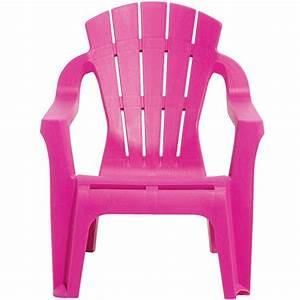 Fauteuil Plastique Jardin : fauteuil de jardin plastique pour enfant rose mobilier de jardin jardin plein air gifi ~ Teatrodelosmanantiales.com Idées de Décoration