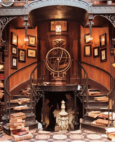 Steampunk Tendencies  The Study Set From The Haunted