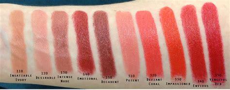 estee lauder matte liquid lipstick loot alert estee lauder color envy lipstick swatches