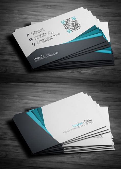 business cards psd templates mockups freebies