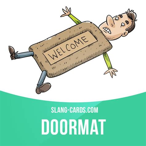 doormat slang 26 best slang images on grammar