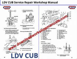 Engine Diagram Ldv Cub