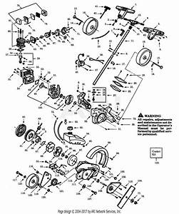 Poulan Pp135 Gas Edger Parts Diagram For Assembly
