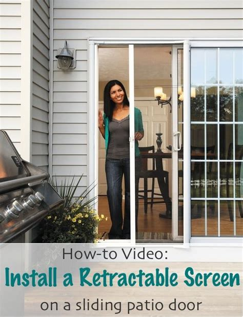 how to on installing a brisa retractable screen for