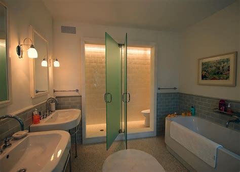 Bathroom Layout With Separate Toilet by New Residence Villanova Pa Contemporary Bathroom