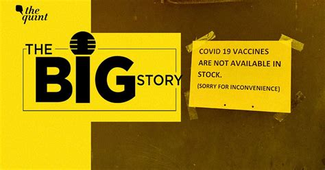 The Big Story Podcast: Are Indian States Facing a Shortage ...