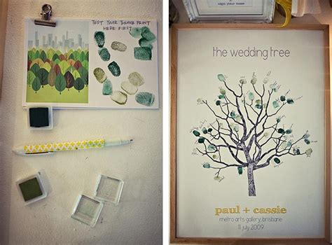 Bridal Shower Guest Book Ideas - guest book in the