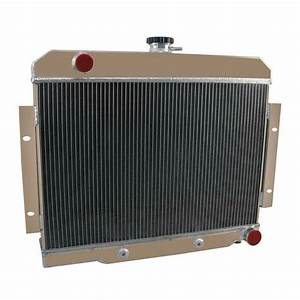 4 Row Radiator For Jeep Cj Cj5 Cj6 Cj7 72