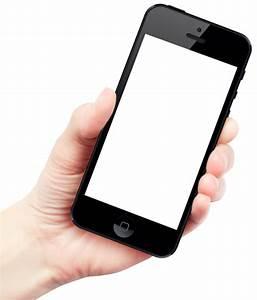 Hand Holding Smartphone PNG Image - PngPix