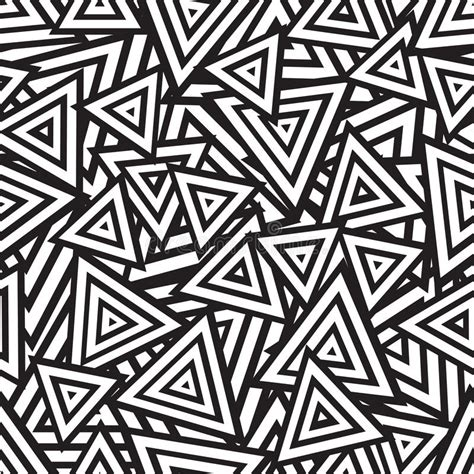 Abstract And Black Pattern by Abstract Black And White Seamless Pattern Vector Stock