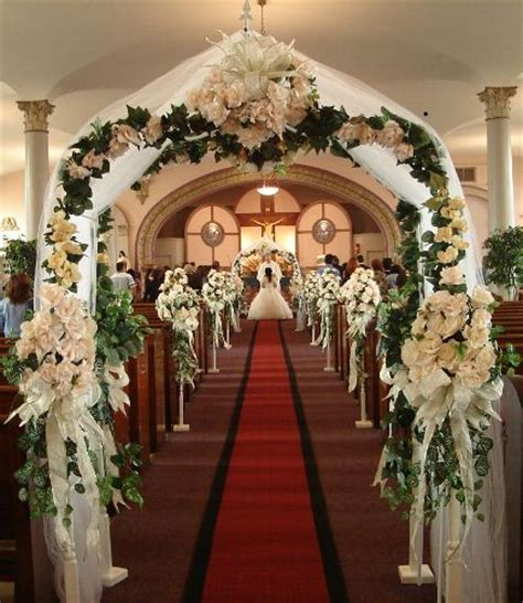 Beautifulchurchweddingdecorations Church Decorations