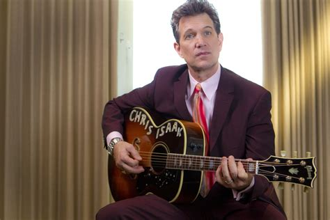 chris isaak fills sun studio shoes nicely  blade