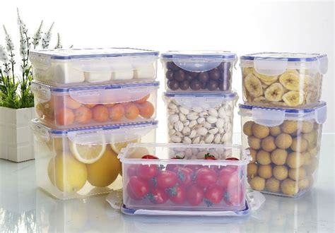 cheap food storage plastic containers  kitchen kits