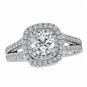 vera wang love collection 2 ct tw diamond frame split With vera wang wedding rings