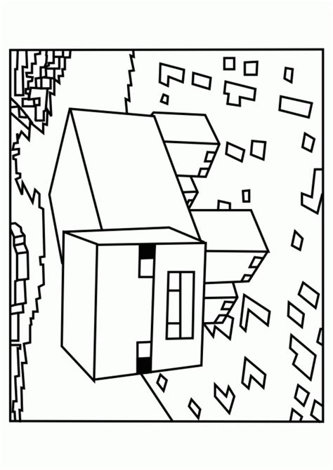 Coole Minecraft Kleurplaat by Printable Minecraft Coloring Pages Coloring Home