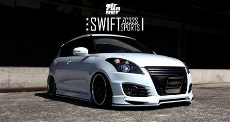 Suzuki Swift Sport Looks Cool with BELi Kit and Air Ride ...