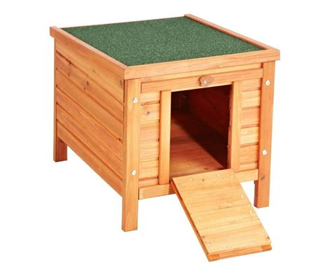 Wooden Small Animal Cage Rabbit Hutch Hide House Cat Puppy