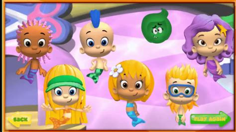 Bubble Guppies  Good Hair Day Game  Bubble Guppies