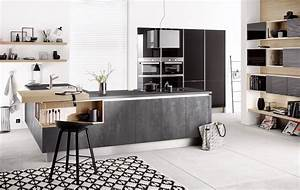 Häcker Küchen Arbeitsplatten : neue fronten und arbeitsplatten in betonoptik von h cker k chen ~ Markanthonyermac.com Haus und Dekorationen