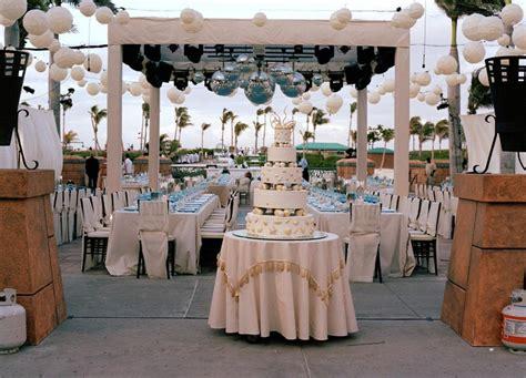 Deck Bahamas Wedding by Atlantis Bahamas Wedding Dinner Bahamas Weddings