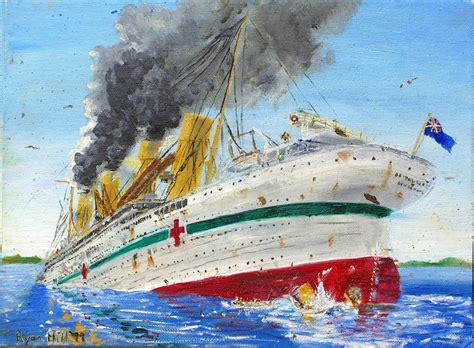 sinking of the hmhs britannic sinking of the britannic 1 by rhill555 on deviantart
