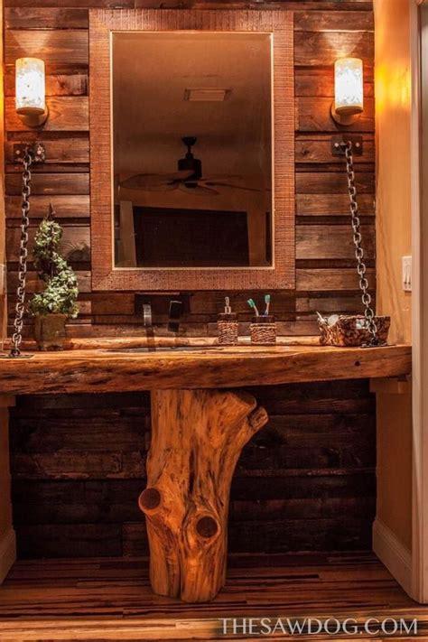 custom bathroom vanity  built   cedar base