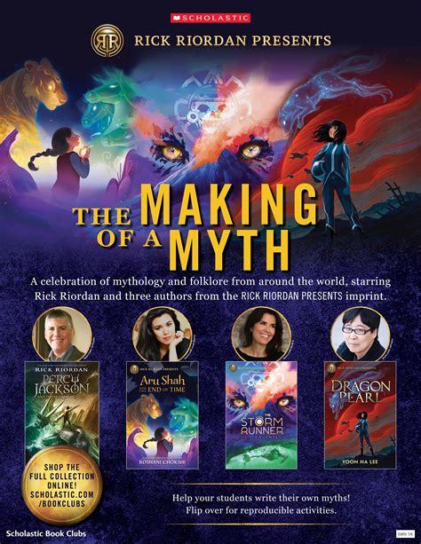 rick riordan presents  making   myth scholastic