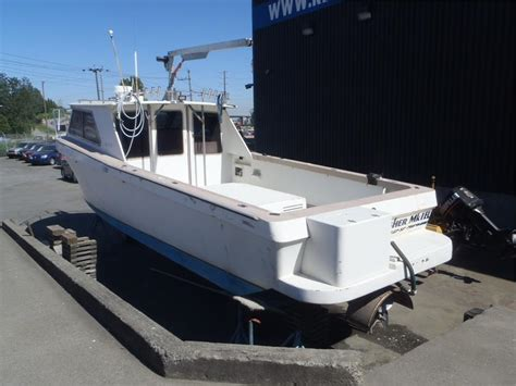 Kingfisher Boats Calgary by 1988 Kingfisher 36 Foot Fishing Boat Outside Comox Valley