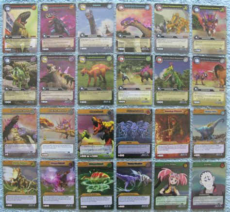 Maybe you would like to learn more about one of these? Dinosaur King TCG Choose 1 Dinotector Showdown Silver Rare Foil Card from List | eBay
