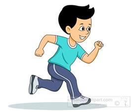 Free Running Clip Art