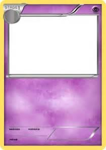 Blank Pokemon Card Stage 2