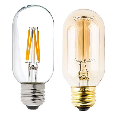 led vintage light bulb t14 shape radio style led bulb