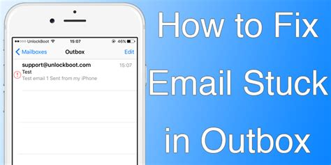 iphone email problems how to fix iphone email stuck in outbox or unsent mail