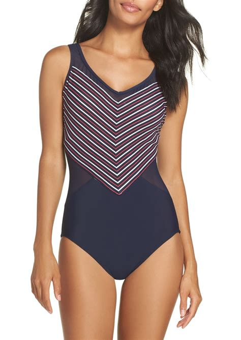 miraclesuit miraclesuit  point  piece swimsuit