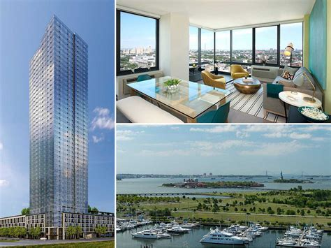 Jersey City 1 Bedroom Apartments For Rent by Jersey City S Vantage Opens Leasing Office Unveils Model