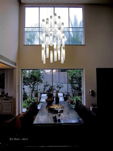 contemporary dining room ceiling lights white candles modern ceiling light by galilee lighting