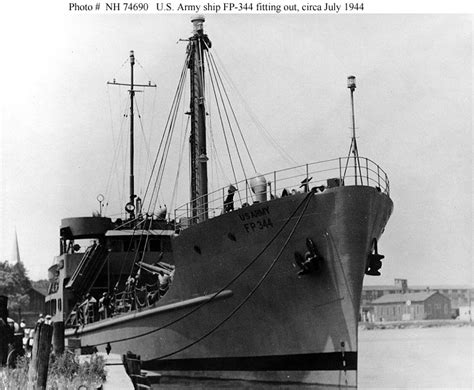 Boat Supplies Jackson Ms by U S Army Ships U S Army Cargo Ship Fp 344 1944 1966