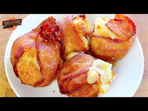 mashed potato bacon bombs youtube