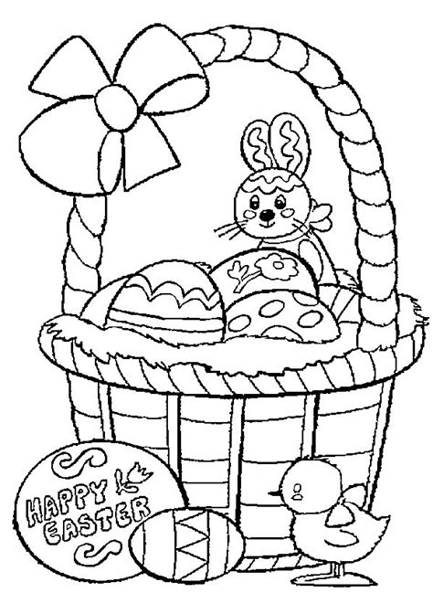 easter basket coloring pages top 10 free printable easter basket coloring pages