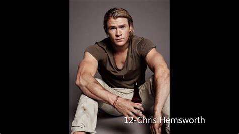 TOP 100 hottest men, celbrities! - YouTube