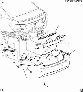 Chevrolet Cruze Bumper  Rear